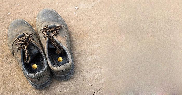 Златна монета в обувка